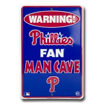 Philadelphia Phillies Fan Man Cave Parking Sign