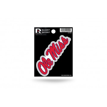 Mississippi Rebels Short Sport Decal
