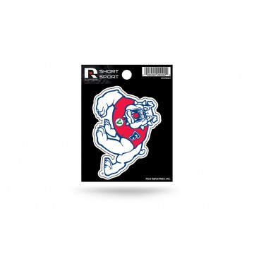 Fresno State Bulldogs Short Sport Decal