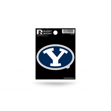 Brigham Young University Short Sport Decal