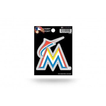 Miami Marlins Short Sport Decal