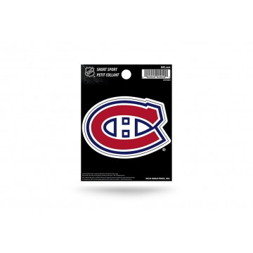 Montreal Canadiens Short Sport Decal
