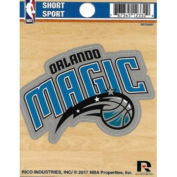 Orlando Magic Short Sport Decal
