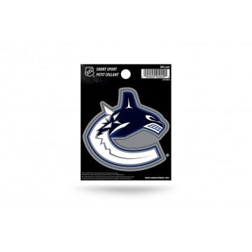 Vancouver Canucks Short Sport Decal