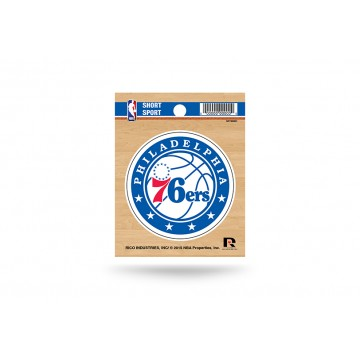 Philadelphia 76ers Short Sport Decal