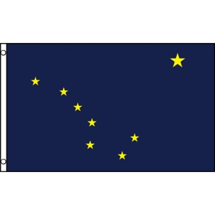 Alaska State Polyester Flag