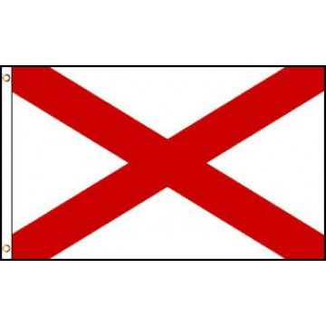 Alabama (State) Polyester Flag