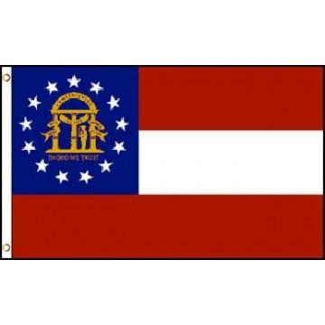 Georgia (State) Polyester Flag