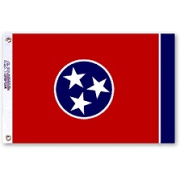 Tennessee State Polyester Flag