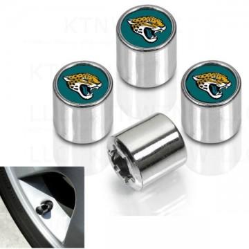 Jacksonville Jaguars Chrome Valve Stem Caps