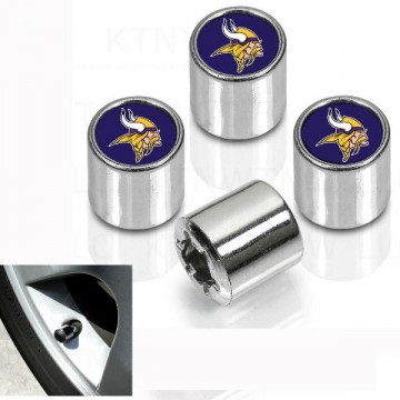 Minnesota Vikings Chrome Valve Stem Caps