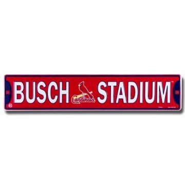 Busch Stadium St. Louis Cardinals Street Sign