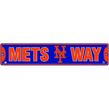 Mets Way New York Mets Street Sign