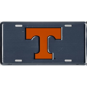 Tennessee Volunteers Anodized License Plate