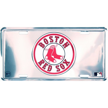 Boston Red Sox Anodized License Plate