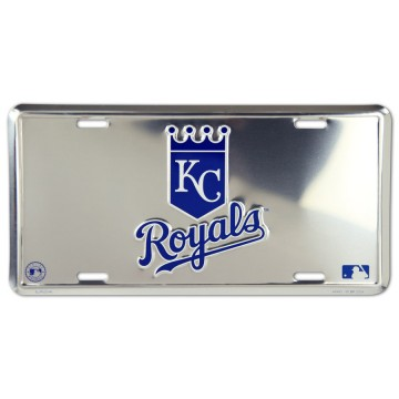 Kansas City Royals Anodized License Plate
