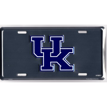 Kentucky Wildcats Anodized License Plate