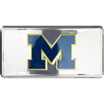 Michigan Wolverines Anodized License Plate
