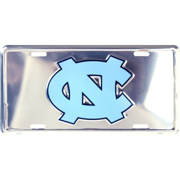 North Carolina Tar Heels Anodized License Plate