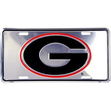 Georgia Bulldogs Anodized License Plate