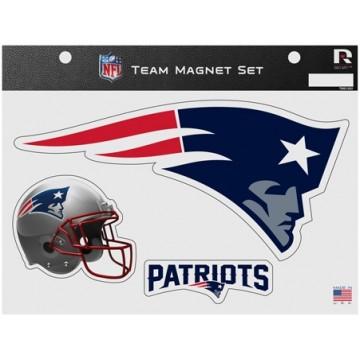 New England Patriots Team Magnet Set