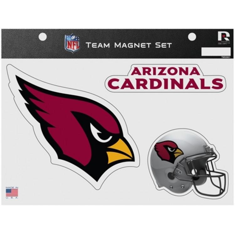 Arizona Cardinals Team Magnet Set
