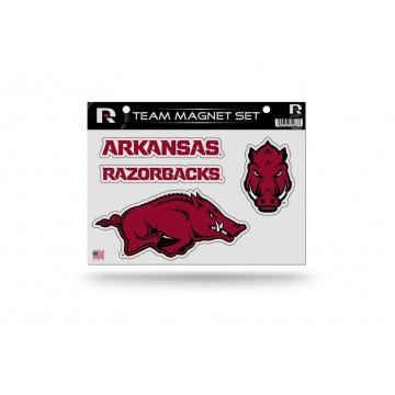 Arkansas Razorbacks Team Magnet Set