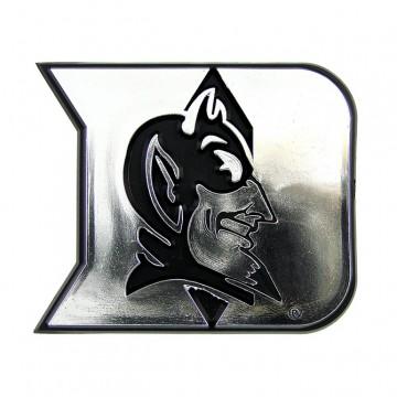 Duke Blue Devils Chrome Auto Emblem