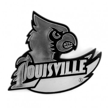 Louisville Cardinals NCAA Chrome Auto Emblem