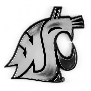 Washington State Cougars NCAA Chrome Auto Emblem