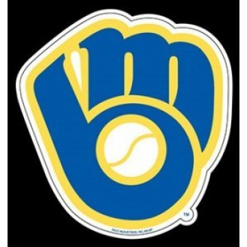 Milwaukee Brewers Die Cut Vinyl Decal