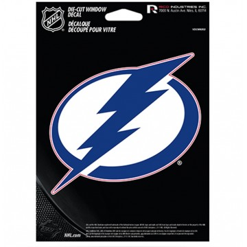 Tampa Bay Lightning Die Cut Vinyl Decal