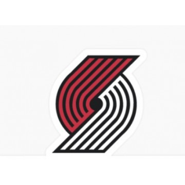 Portland Trailblazers Die Cut Vinyl Decal