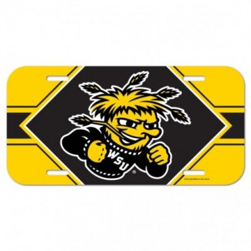 Wichita State Shockers Plastic License Plate