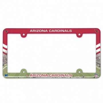 Arizona Cardinals Full Color Plastic License Plate Frame