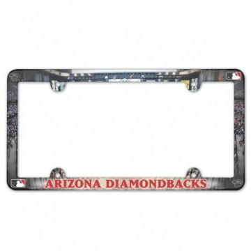 Arizona Diamondbacks Full Color Plastic License Plate Frame