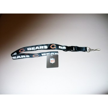 Chicago Bears Blue Lanyard With Safety Fastener