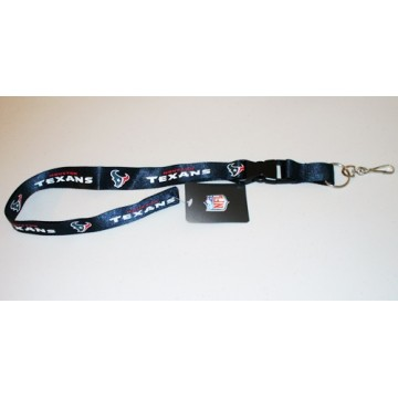 Houston Texans Lanyard With Safety Fastener