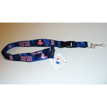 Boston Red Sox Lanyard With Neck Safety Latch