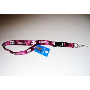 Texas A&M Aggies Maroon Lanyard With Safety Fastener