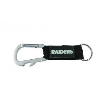 Oakland Raiders Carabiner Key Chain