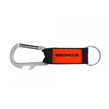 Denver Broncos Carabiner Key Chain