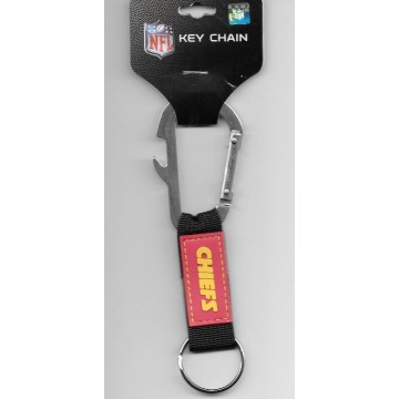 Kansas City Chiefs Carabiner Key Chain