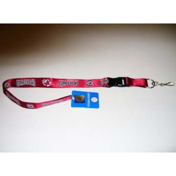 South Carolina Gamecocks Garnet Lanyard With Safety Fastener