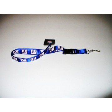 New York Giants Blue Lanyard With Safety Fastener