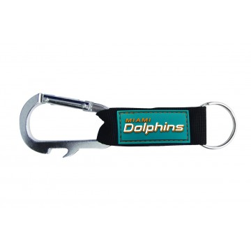 Miami Dolphins Carabiner Key Chain