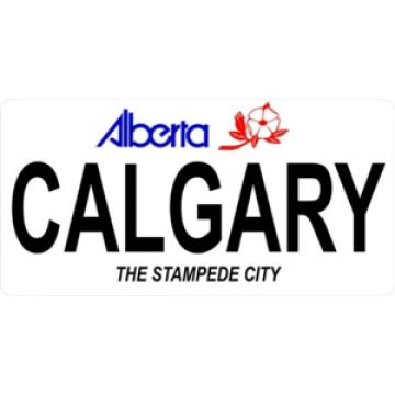 Alberta Calgary Photo License Plate