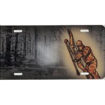 Bowhunter Offset License Plate