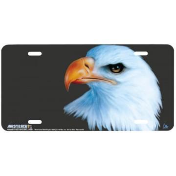 """American Bald Eagle"" License Plate"