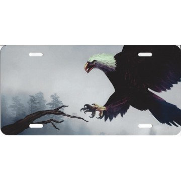 Eagle Landing License Plate